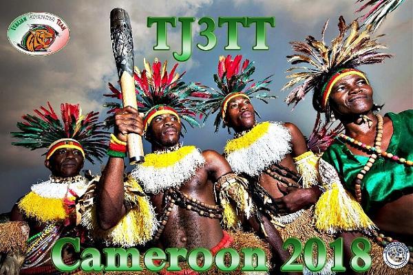 TJ3TT Камерун DX экспедиция QSL.