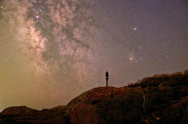 EG1ET Звездное небо Остров Сальвора