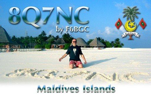 8Q7NC Мальдивские острова