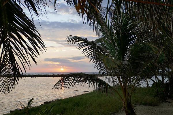 V31UX Восход солнца, Белиз