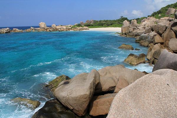 S79CI S79W Анс Маррон, остров Ла Диг, Сейшелы. Туристические достопримечательности.