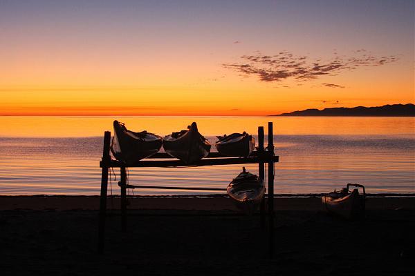XF1IM Восход солнца, остров Магдалена Мексика