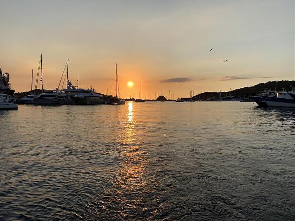 Закат, остров Тринидад, Тринидад и Тобаго 9Y4/OK2ZI
