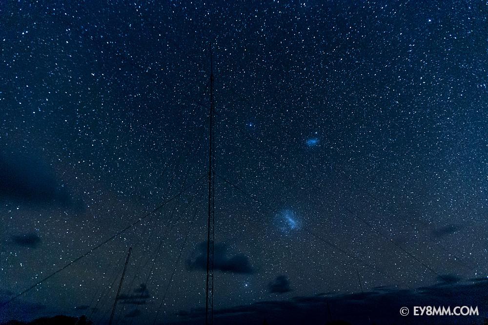 Вертикал на 160 и Магеллановы облака