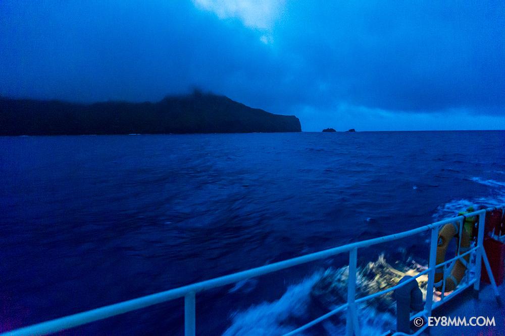 Первый кадр острова Питкэрн