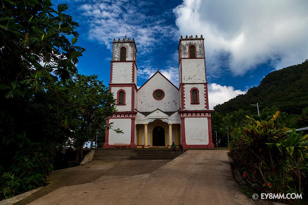 Церковь святого Михаила в Рикитеа