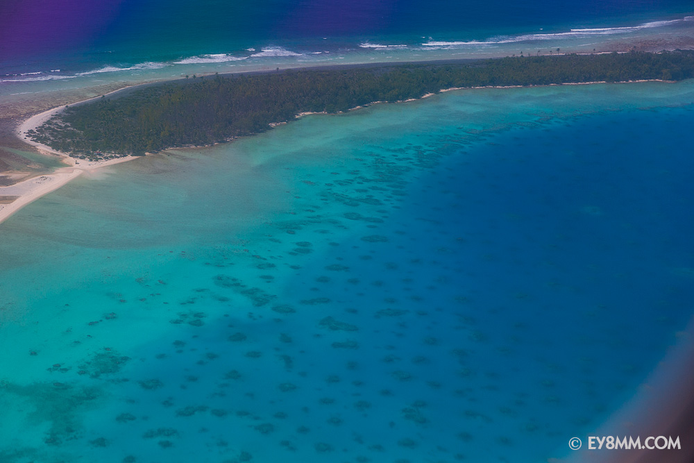 Посадка на архипелаге Гамбье