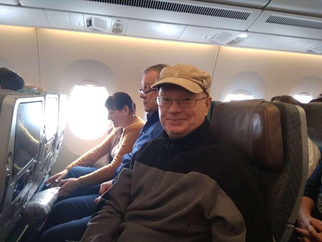 RZ3FW в самолете