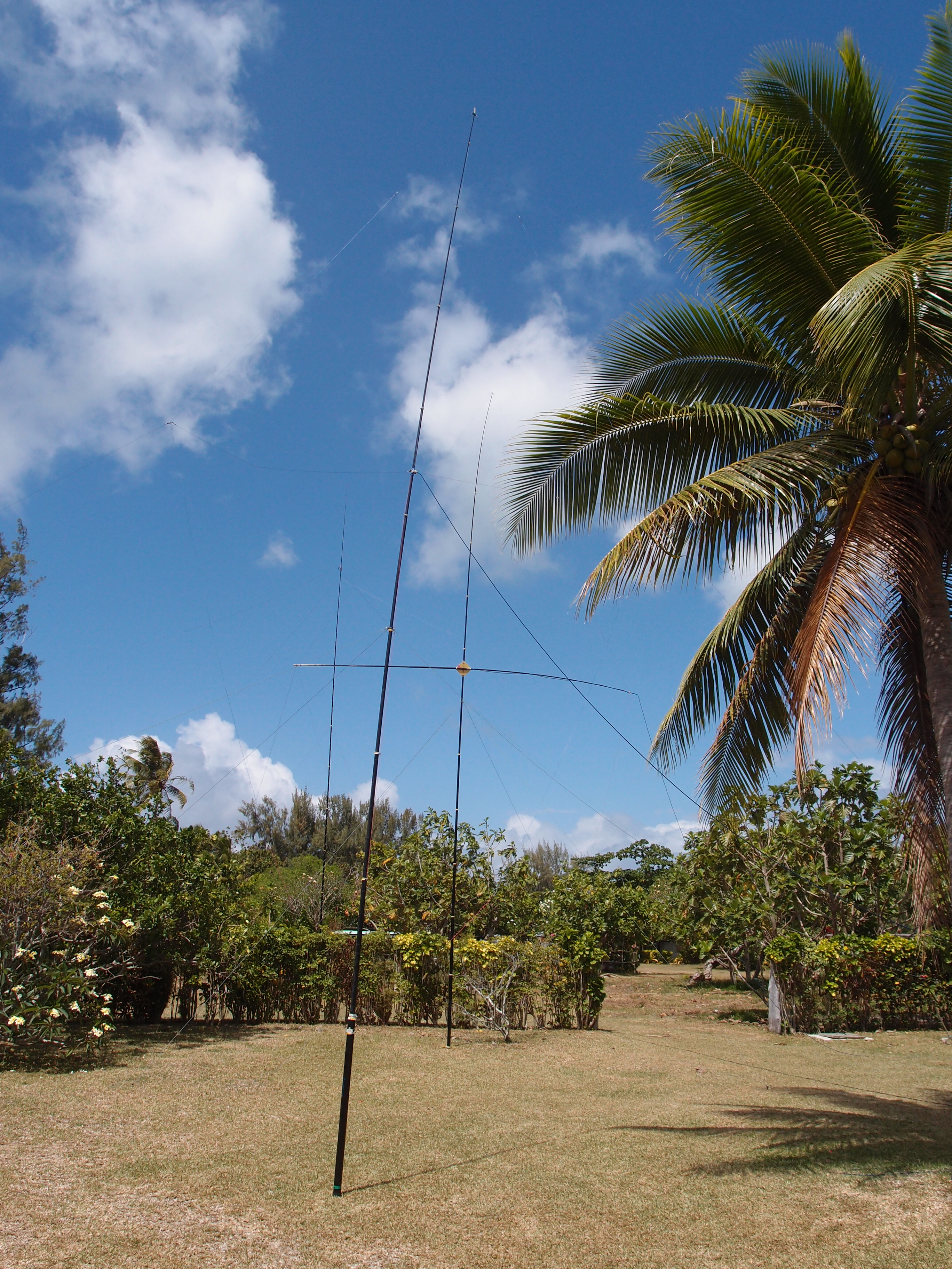 Антенны VDA на 15 и 20м, вертикал 80+160м