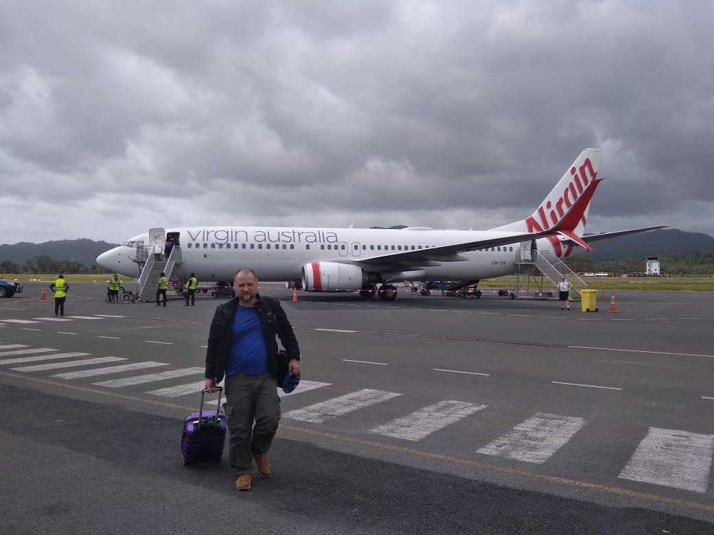 Перелет в Австралию