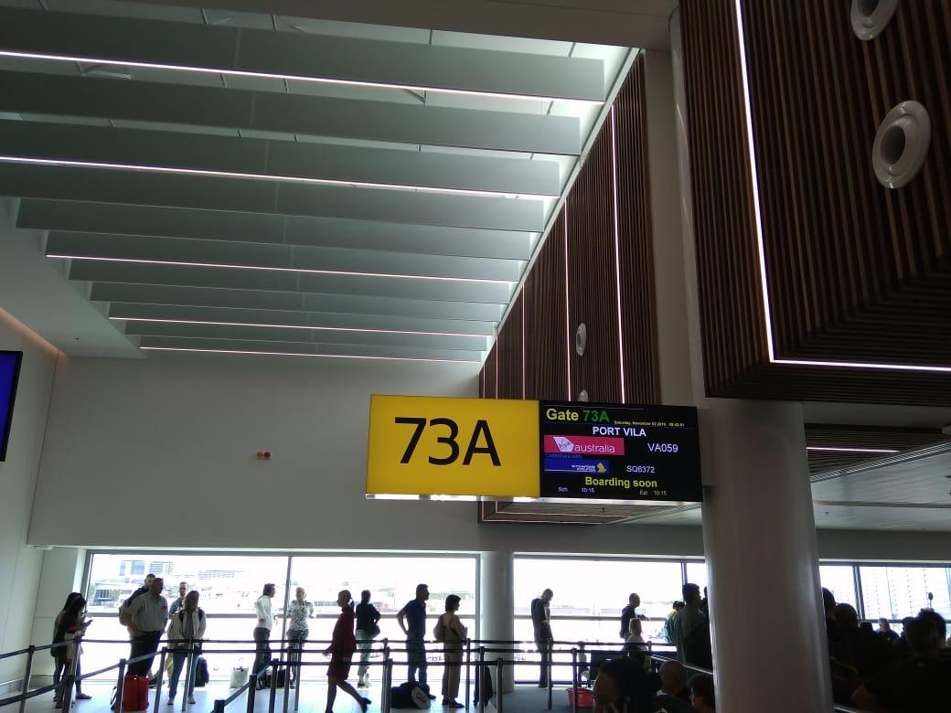 В аэропорту Changi