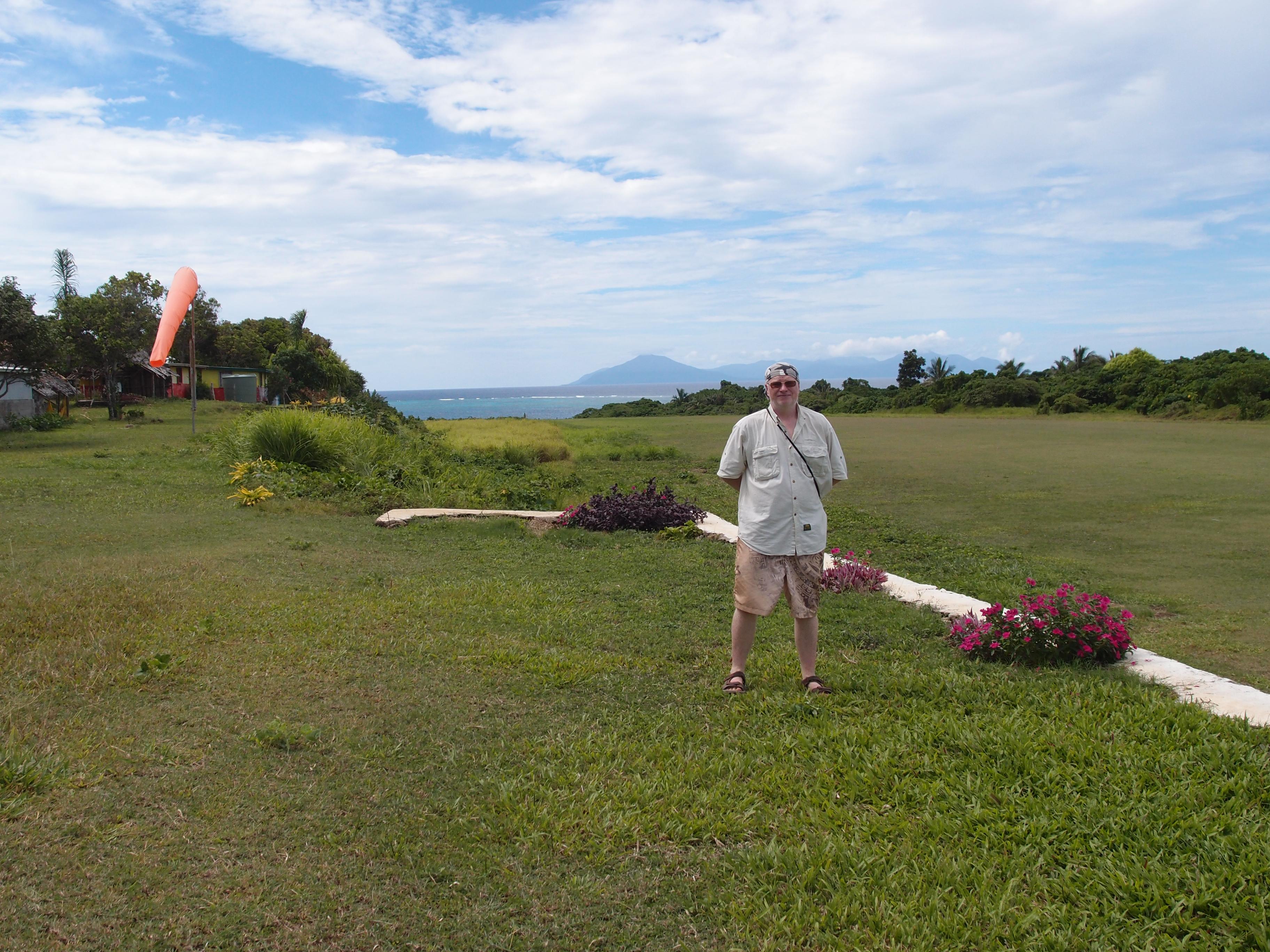 Перед вылетом с острова Гауа
