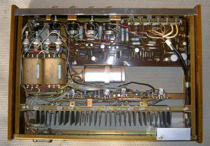 Усилитель ВЭФ-101 стерео (УКУ-210М), схема