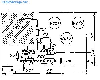 Искатель скрытой проводки на микросхеме К561ЛЕ5
