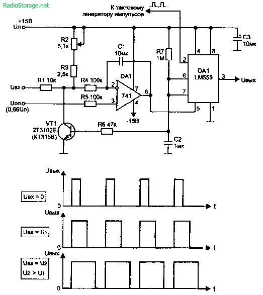 Схемы имитаторов звуковых эффектов, изменение голоса