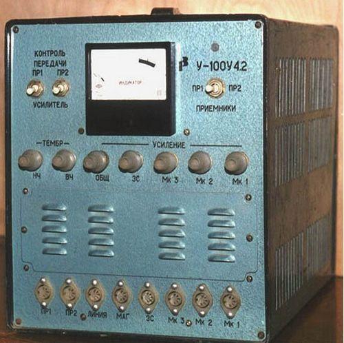 Ламповый усилитель ТУ-100 БУ 4,2, схема