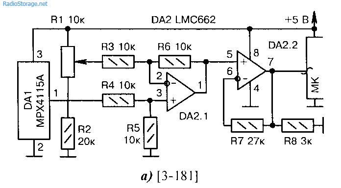 Датчики атмосферного давления в сопряжении с микроконтроллером