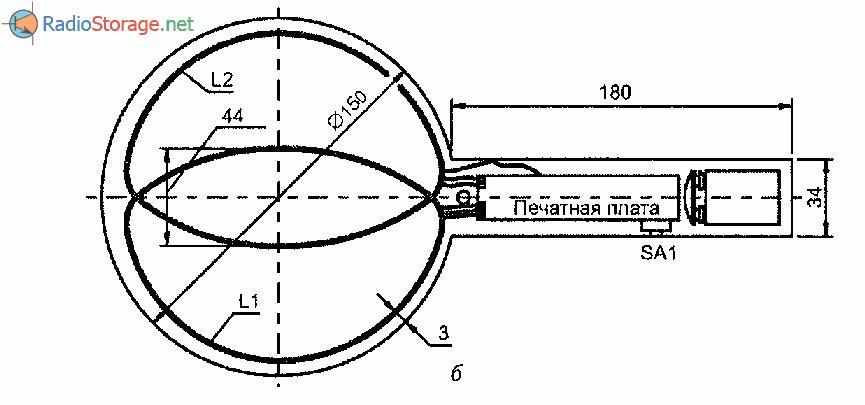 Конструкция простого металлоискателя на транзисторах конструкция