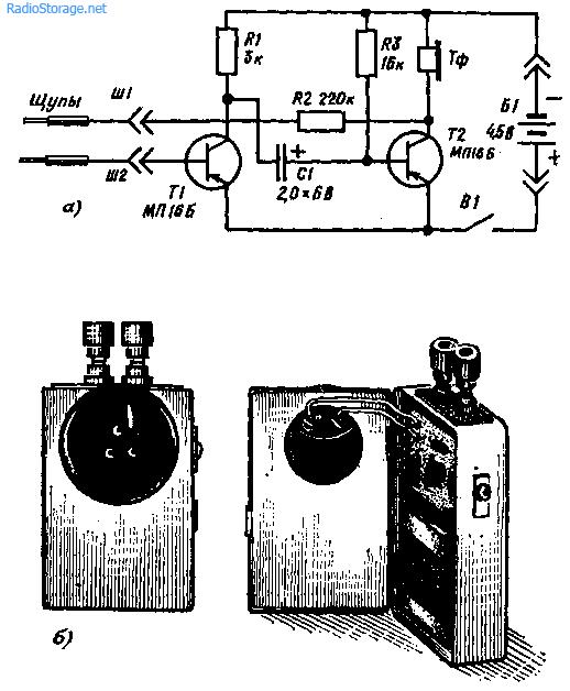 Простой пробник-генератор — анализатор электрических цепей