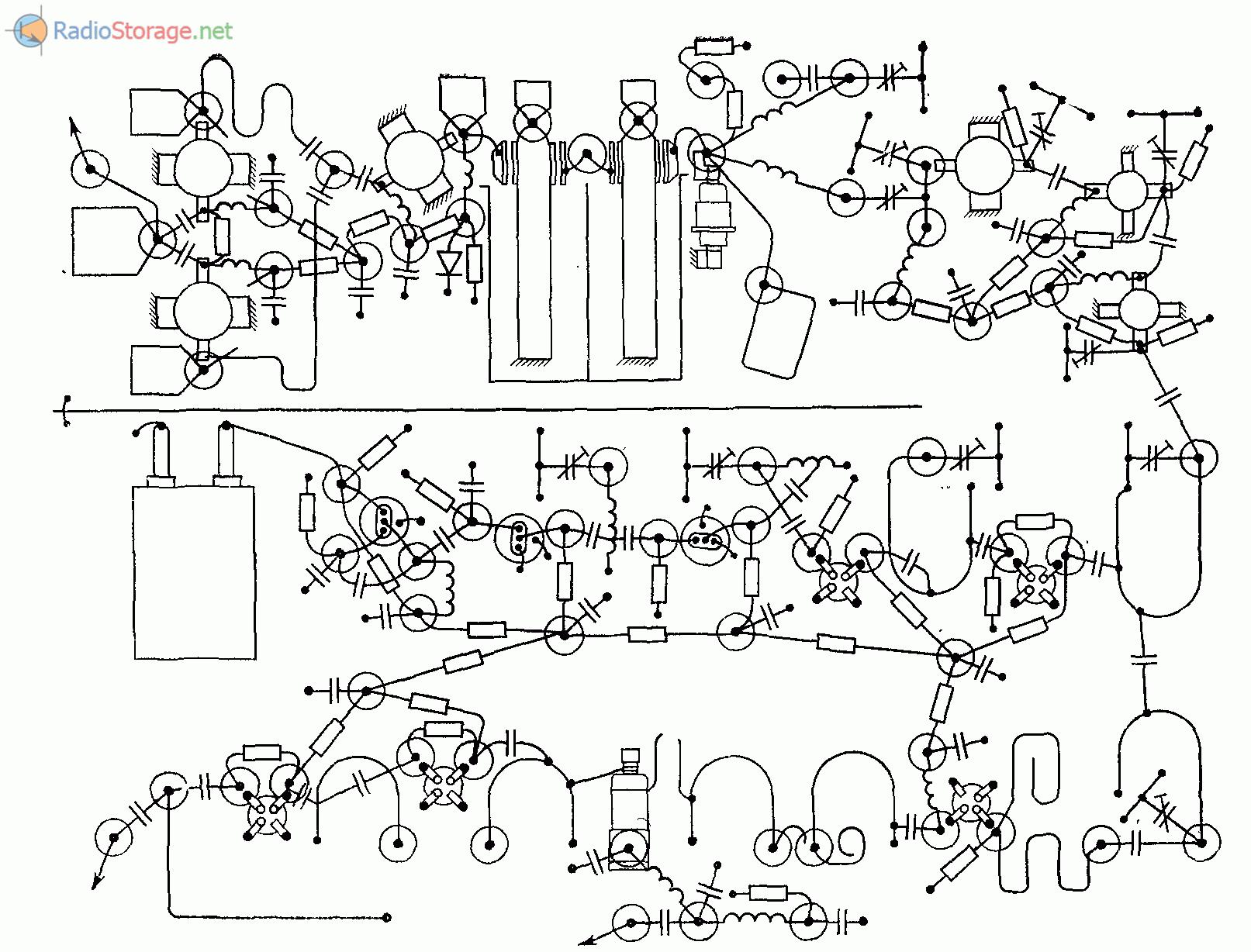 Чертеж платы УКВ трансвертера 1296/144 МГц