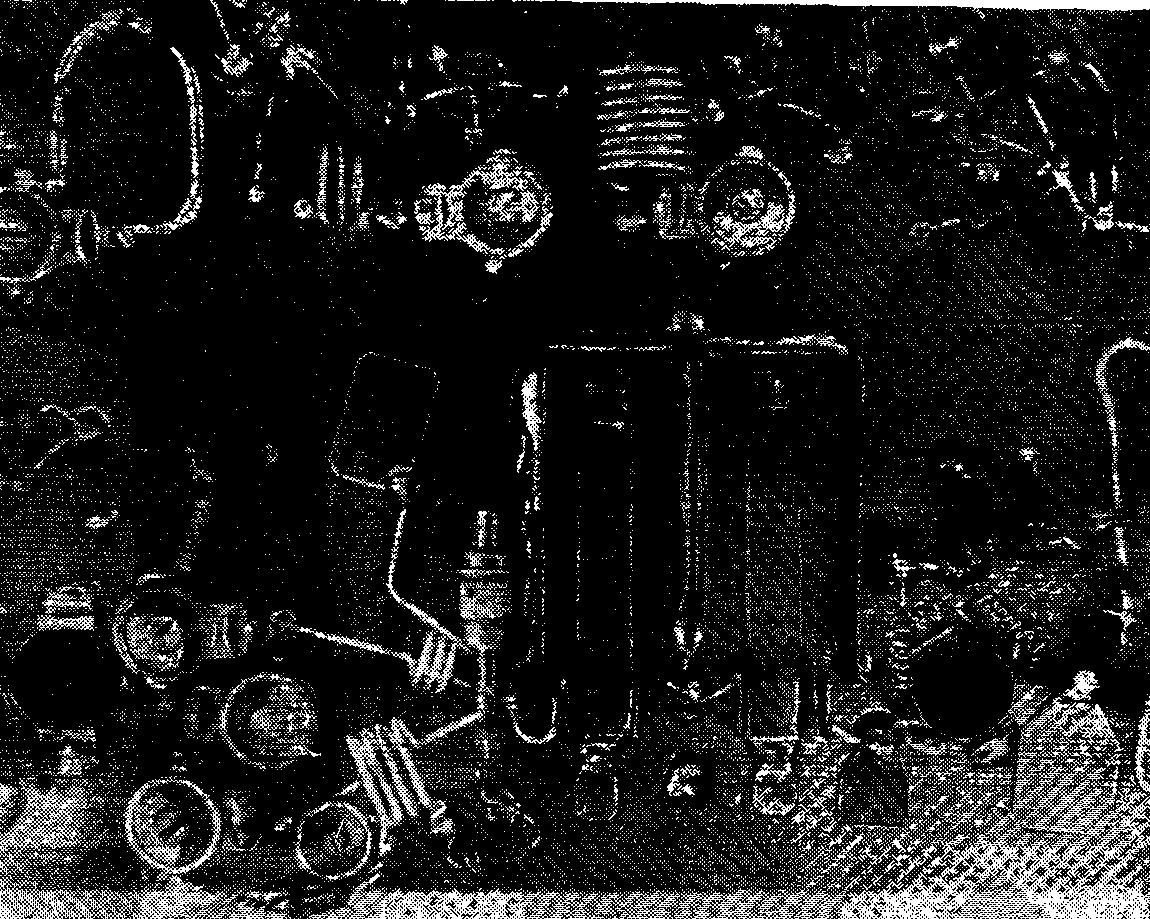 Монтаж параметрического преобразователя и полосового фильтра