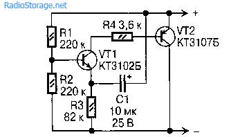 Автономный сигнализатор отключения напряжения сети