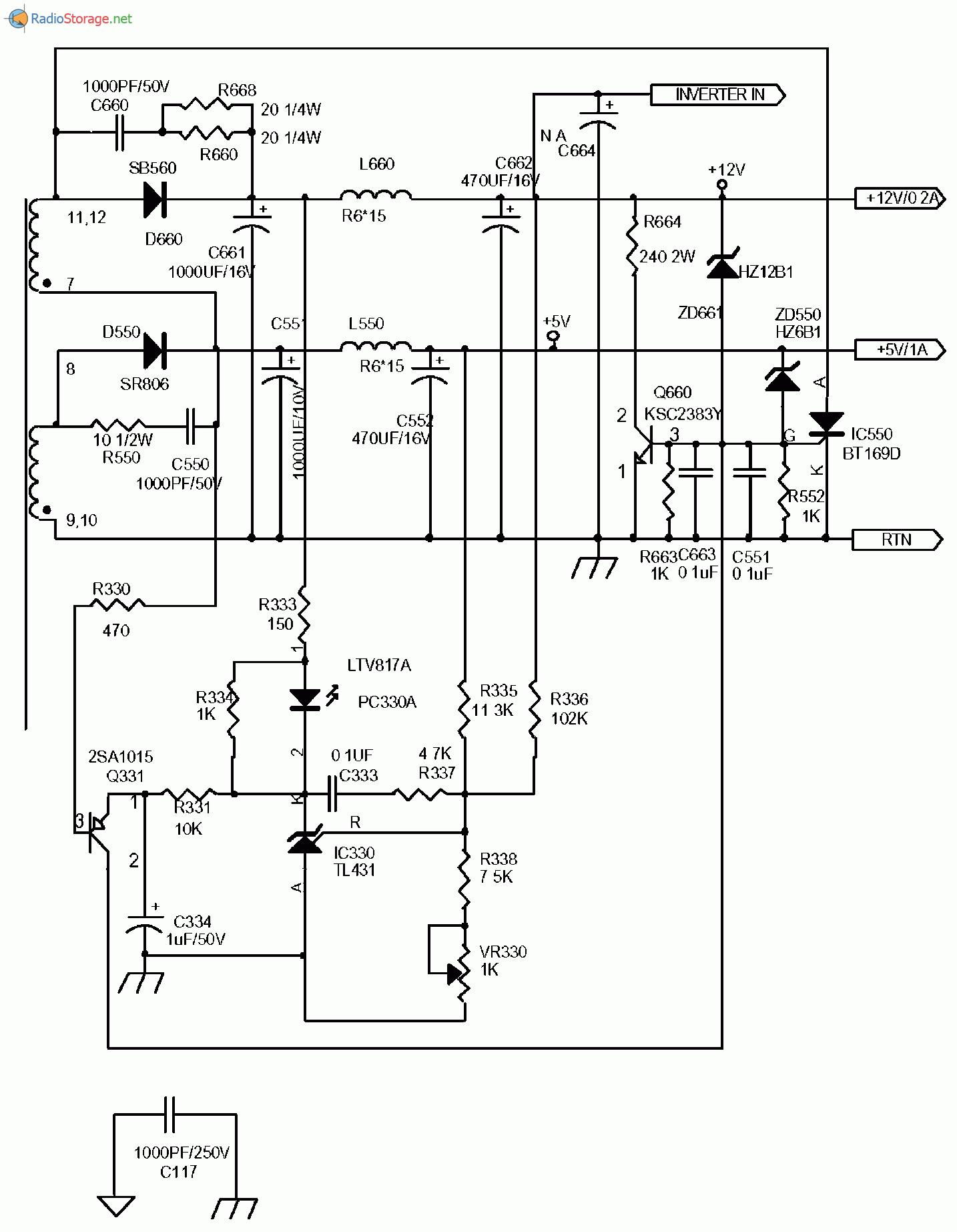 Схема монитора lg flatron фото 683