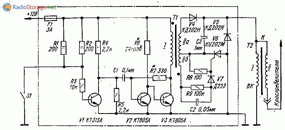 Электронная система зажигания для автомобиля