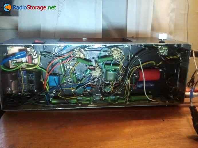 монтаж электронных компонентов лампового усилителя низкой частоты