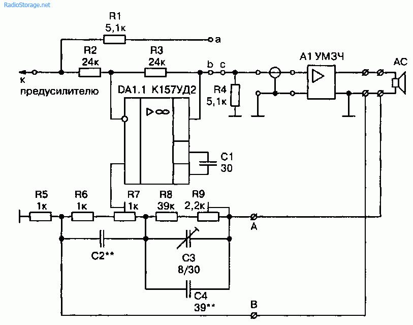 Компенсатор акустических кабелей для усилителя TECHNICS SE-A900S