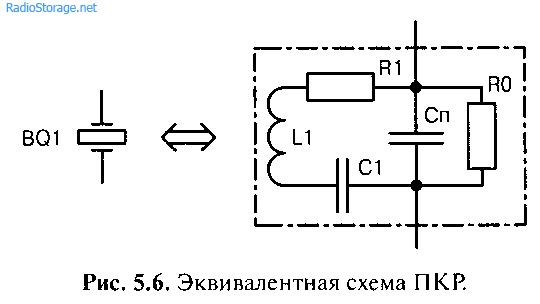 Стабилизация частоты пьезокерамическим резонатором