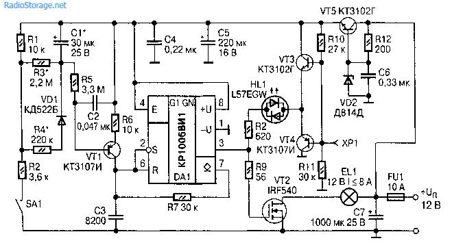Преобразователь для двигателя постоянного тока д814