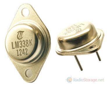 Внешний вид мощных интегральных стабилизаторов LM338