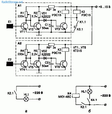 Схема и конструкция необычного сенсорного датчика