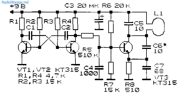 Схемы простейших металлоискателей (12)
