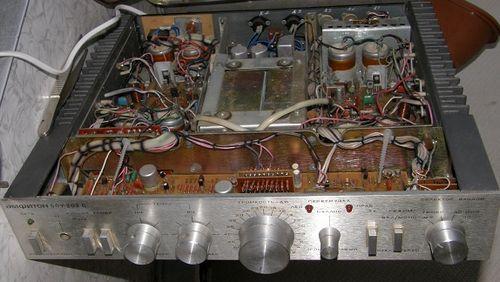 Усилитель Амфитон 50У-202С, схема