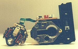 Вид лазера со снятой линзой