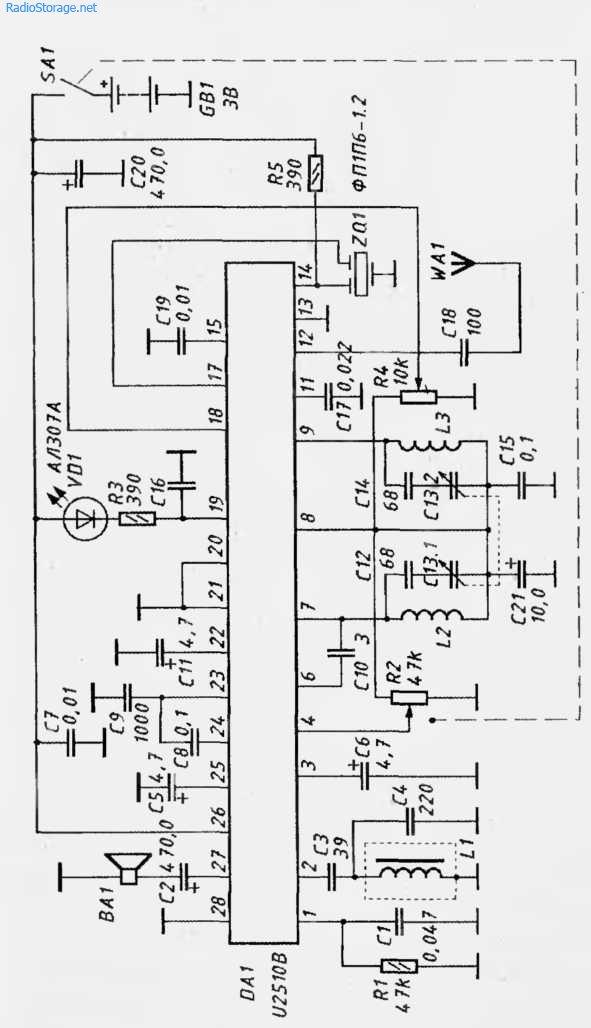 УКВ-приемник 64-108МГц на микросхеме 112510В
