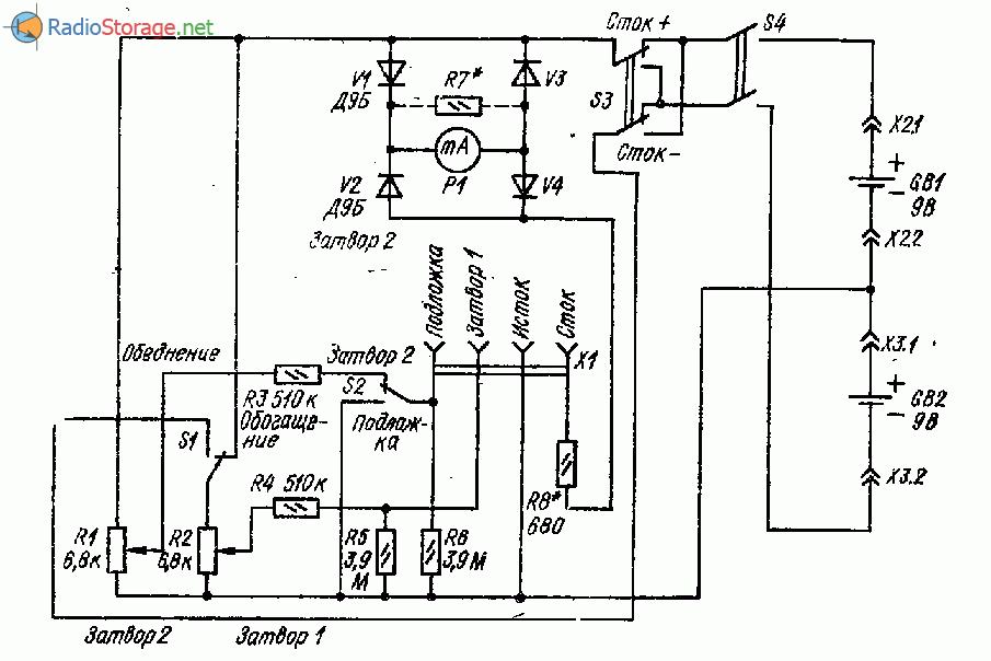 Тестер исправности полевых транзисторов