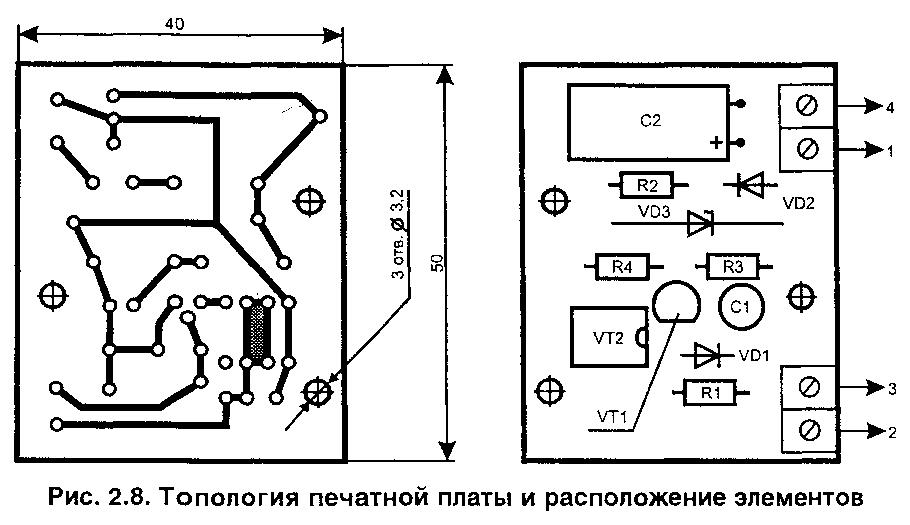 Автоматическая блокировка параллельного аппарата