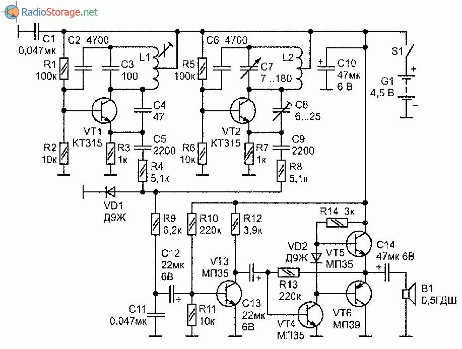 Как сделать укв регенератор на транзисторах мп42 фото 77