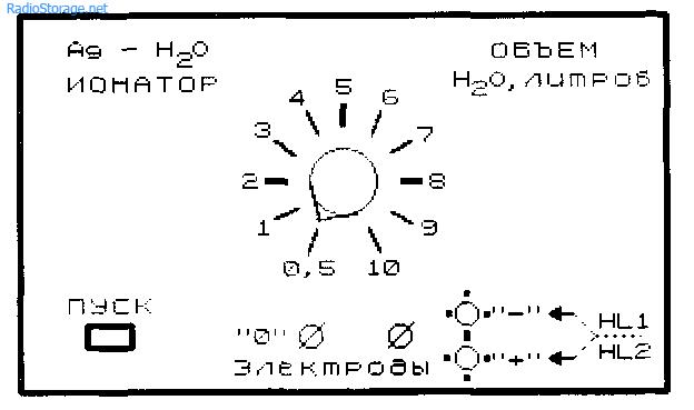 Схемы ионаторов воды