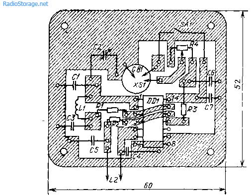 2 схемы простых металлоискателей на микросхемах К561ЛЕ5, К176ЛА7