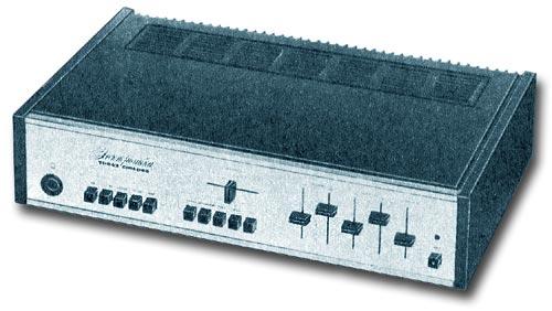 Усилитель Электроника Т1-002 стерео, схема
