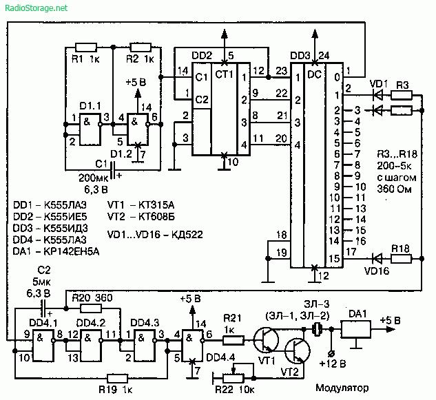 Защита от лазерного детектора своими руками