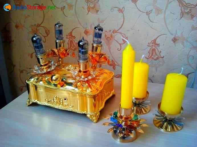 оформление самодельного лампового усилителя для наушников