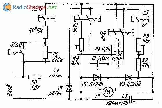 Прибор автолюбителя для проверки и регулировки оборудования