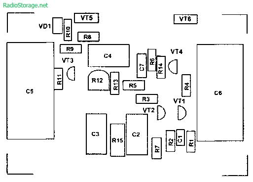 Линейный усилитель мощности на МОП транзисторах ( 60Вт )