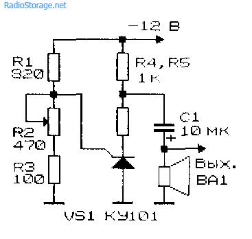 Генераторы импульсов (инжекционно-полевые транзисторы, негаваристоры)