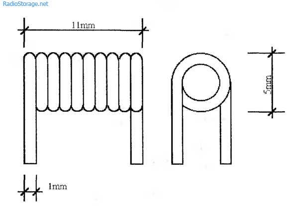 Конструкция катушек индуктивности передатчика
